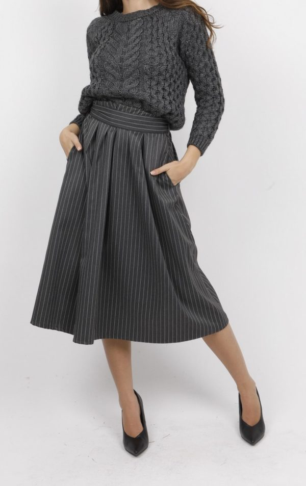 17903 - Skirt 60% Pol 38% Viscoze 2% Spa