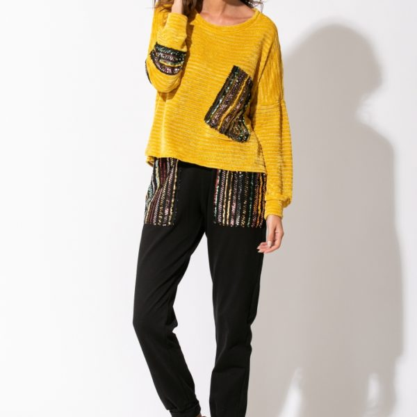 2631 - Blouse 100% Pes 2631TR - Trouser 100% Cotton Pailette