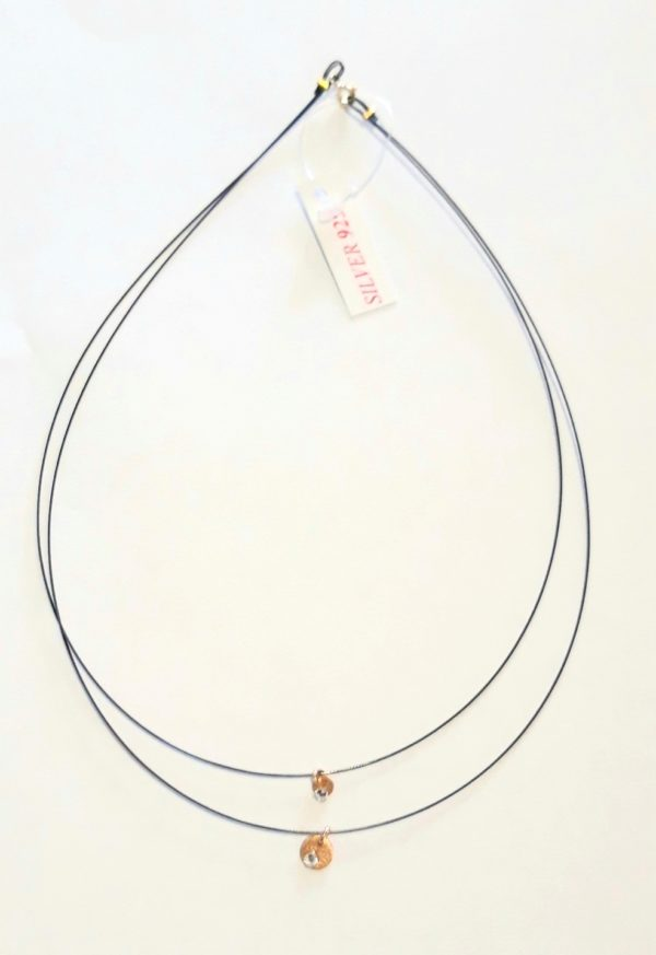 20KS118 - Necklace, Gold Plated Silver
