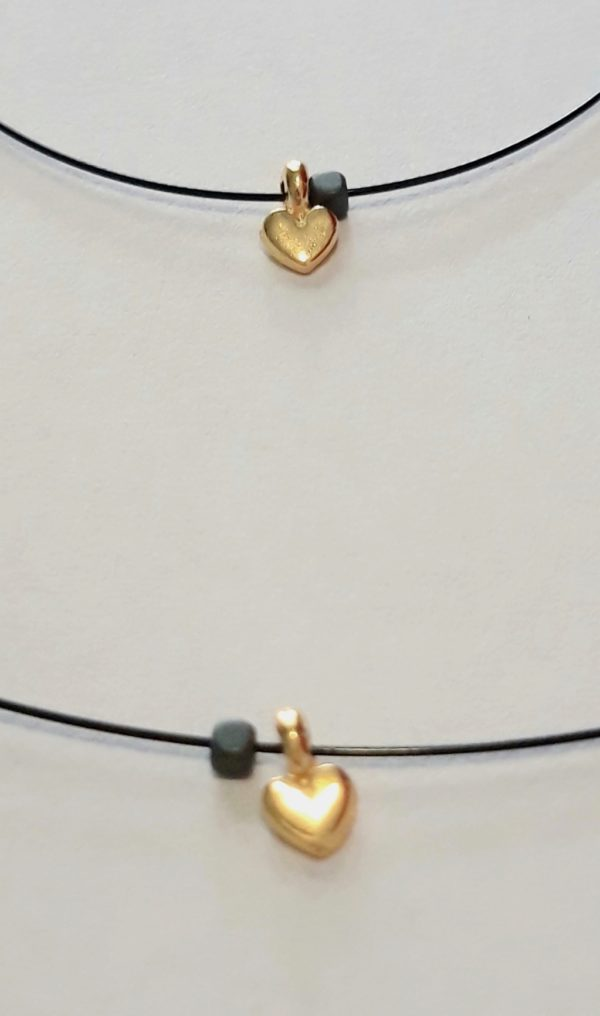 Necklace with Gold Plated Brass